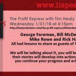 Learn from George Foreman, Bill McDermott SAP, Mike Rowe and Rick Harrison on The Profit Express 4:30pm wrhu.org